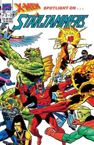 ¡No serían los originales! 'Captain Marvel 2' introduciría a los X-Men galácticos captain-marvel-starjammers-325x500