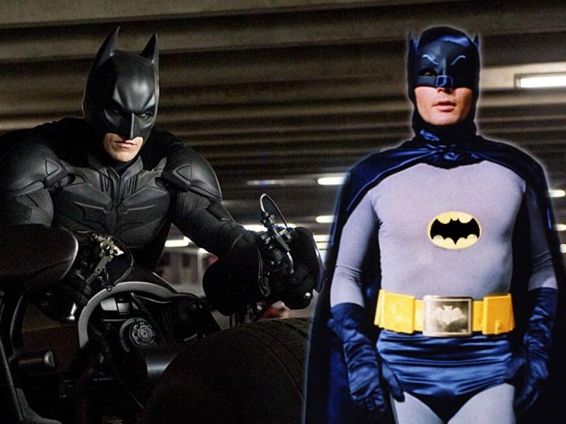 en The Dark Knight Rises Batman aparece de día