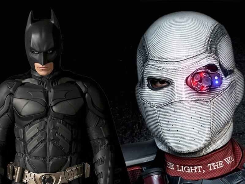 referencia mostró a Deadshot en The Dark Knight Rises