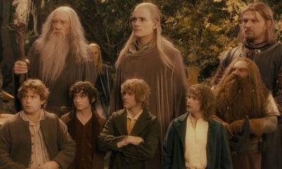 Personajes de The Lord of the Rings en la serie