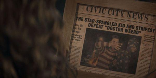 ¿Muy explícitas para CW? Geoff Johns revela que tuvieron que eliminar escenas de 'Stargirl' stargirl-star-spangled-kid-and-stripsey-newspaper-cover-1-600x300