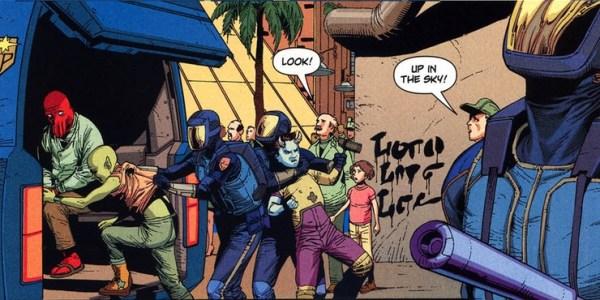 Una caricatura de Matt Groening es en realidad parte del universo de DC zoidberg-superman-dc-comics-600x300