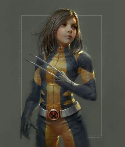 ¡Ideal para entrar al MCU! Así se vería Dafne Keen como la nueva Wolverine 17334091_1856229994634073_7707277911698440192_n-425x500