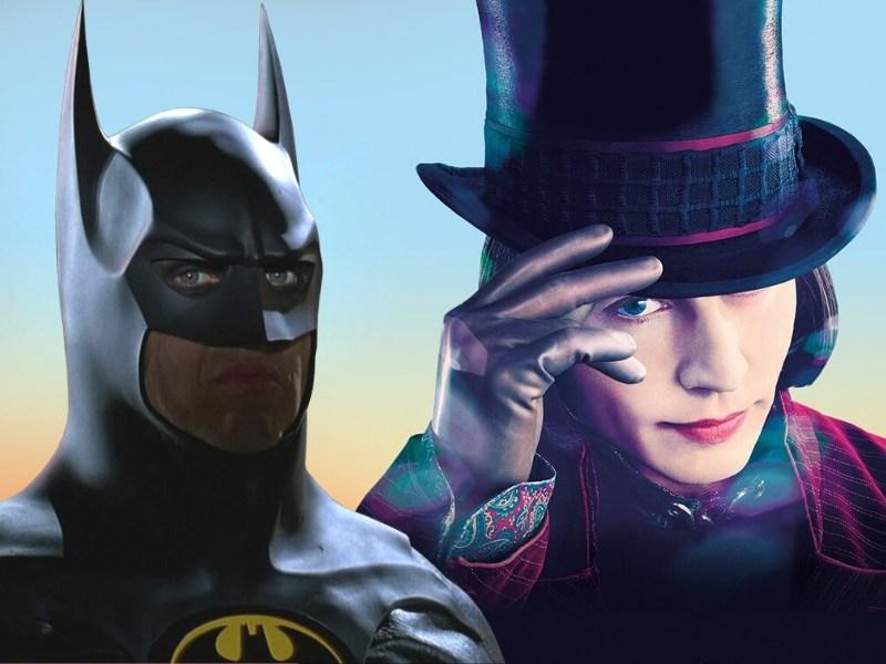 Batman está conectada con Charlie and the Chocolate Factory