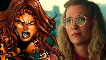 fan art de Cheetah en 'Wonder Woman 1984'