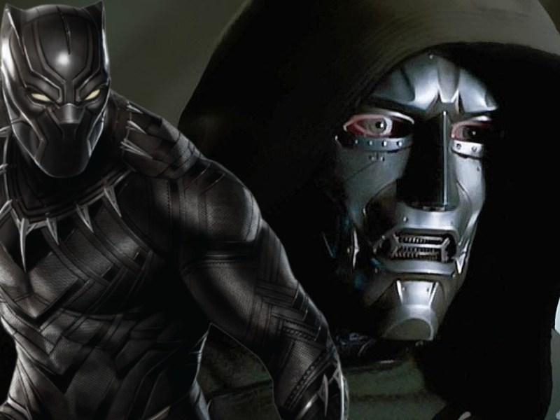 Fan póster de 'Black Panther 2' con Doctor Doom