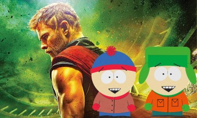 referencia a South Park en Thor Ragnarok