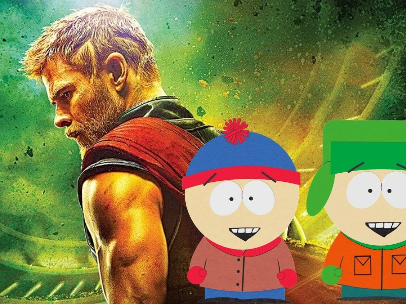 referencia a South Park en Thor Ragnarok