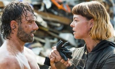 Pollyanna McIntosh habló de las películas de 'The Walking Dead'