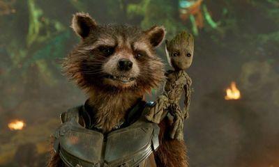 spinoff de Rocket Raccoon y Groot