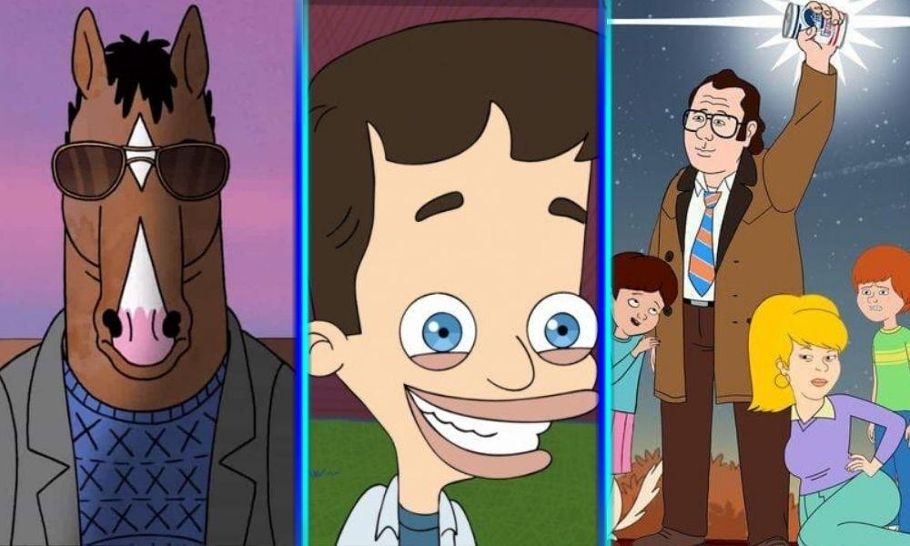 Crossover entre Rick and Morty y Bojack Horseman