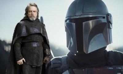 dónde está Luke Skywalker durante de The Mandalorian