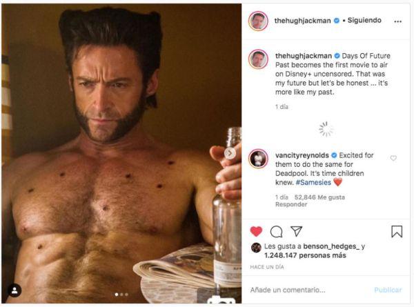 Ryan Reynolds asegura que Marvel ya está preparado para la llegada de Deadpool hugh-jackman-ryan-reynolds-600x445