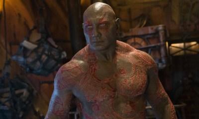 James Gunn reveló el proceso de maquillaje de Drax