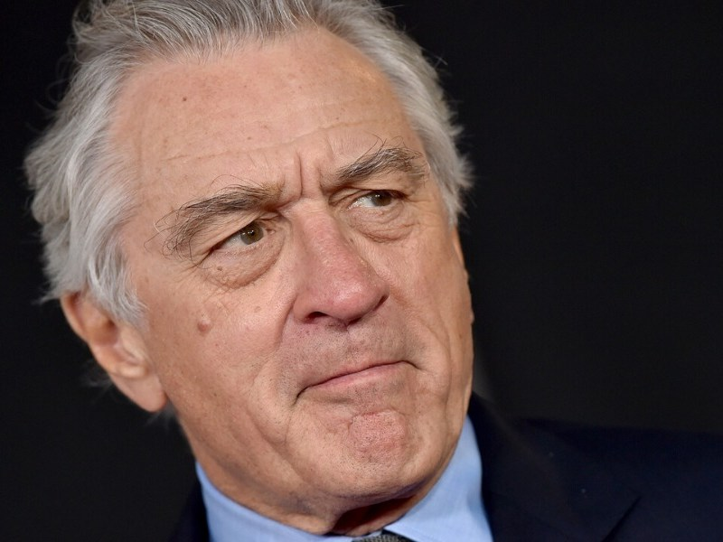 Mickey Rourke insultó a Robert De Niro