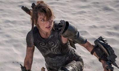 Nueva imagen de Milla Jovovich en 'Monster Hunter'