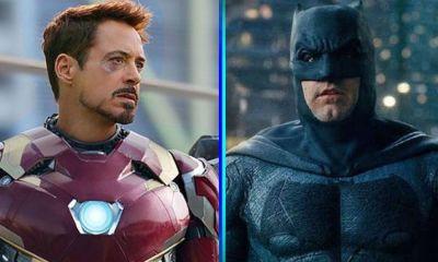 fan poster de Batman vs Iron-Man