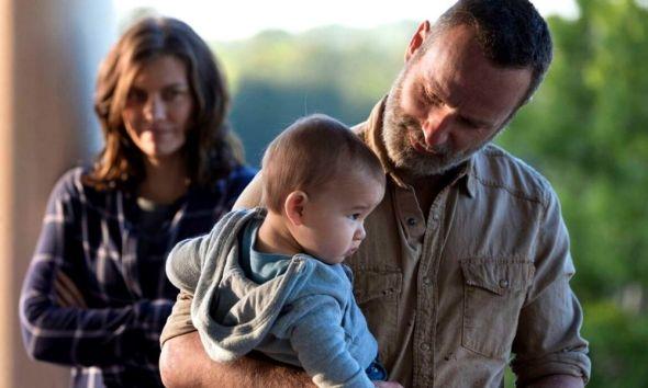 Hershel en el final de temporada de 'The Walking Dead'