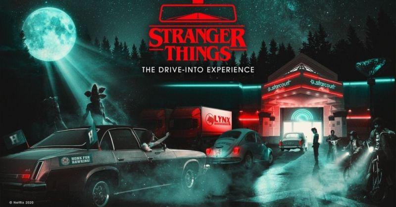 ¡El nuevo Hawkins! El mundo de 'Stranger Things' ya está al alcance de los fans stranger-things-drive-into-experience-1233947