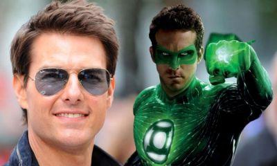 Tom Cruise cómo Green Lantern
