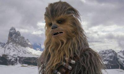 Chewbacca recreó el intro de The Mandalorian