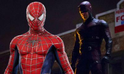 Daredevil apareció en la primera película de Spider-Man