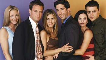 Elenco de 'Friends' se reunió durante los Emmy