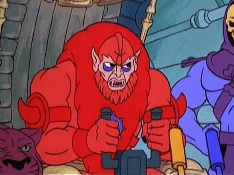 Fan art de Beast Man