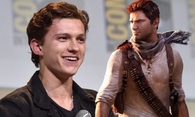 Fotos de Tom Holland y Mark Wahlberg en 'Uncharted'