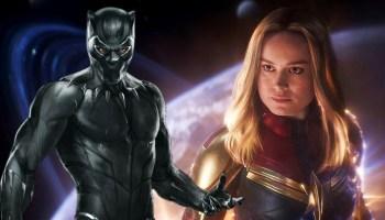 tributo a Black Panther en Captain Marvel 2