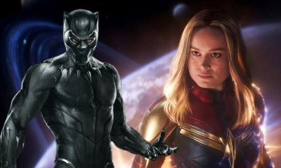 tributo a Black Panther en Captain Marvel 2