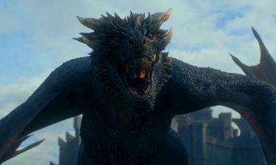 Emilia Clarke revela el destino de Drogon