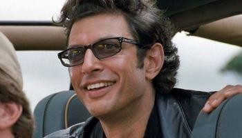 Jeff Goldblum recreó pose de Jurassic Park