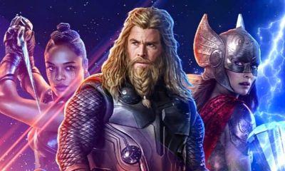primera imagen del guion de 'Thor: Love and Thunder'