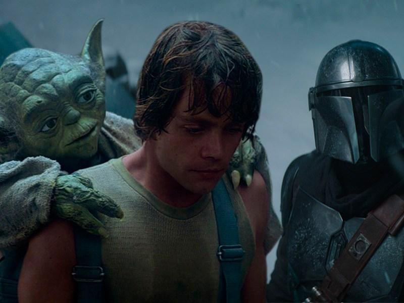arañas de 'The Mandalorian' iban a aparecer en 'The Empire Strikes'
