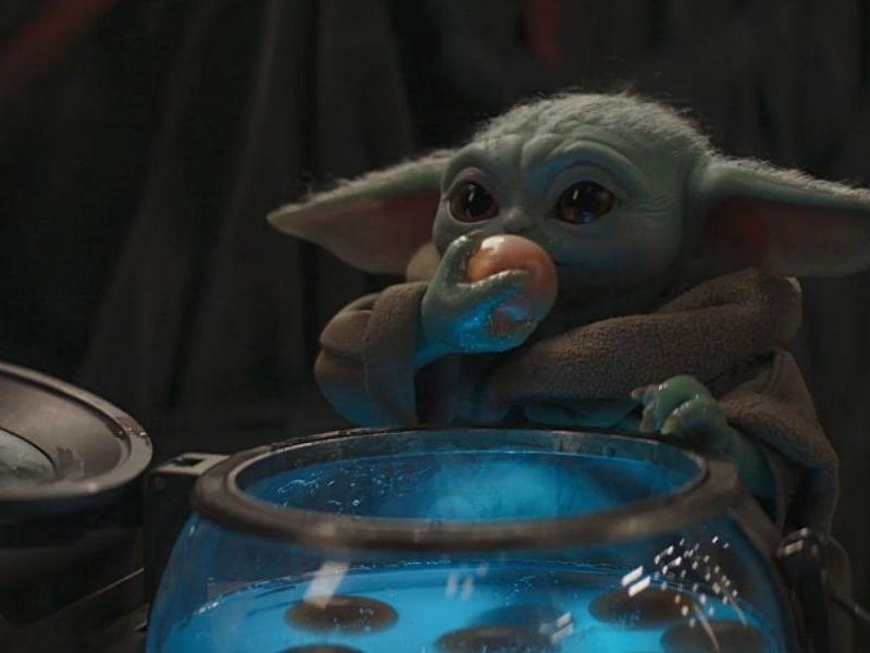 Baby Yoda podría no haberse comido los huevos