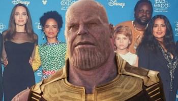 conexión entre Thanos y 'Eternals'