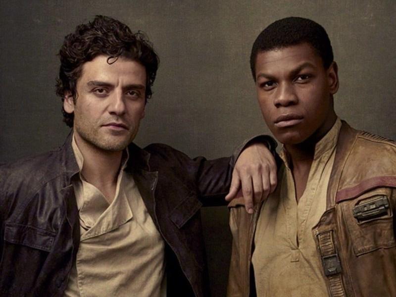 foto de Oscar Isaac y John Boyega
