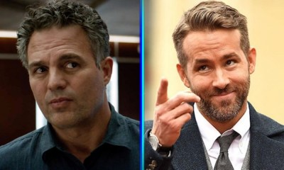 Mark Ruffalo y Ryan Reynolds en The Adam Project
