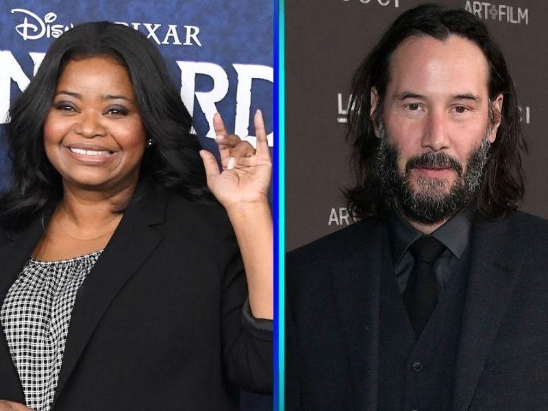 Octavia Spencer confiesa que Keanu Reeves la ayudó