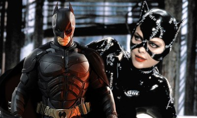 referencia a Catwoman en The Dark Knight