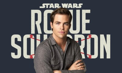 Chris Pine conoce la historia de 'Star Wars Rogue Squadron'
