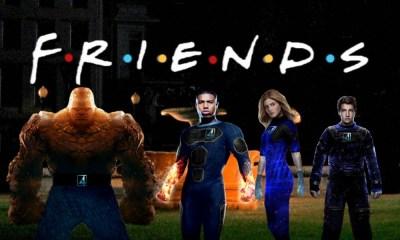 Fantastic Four hizo referencia a Friends (1)