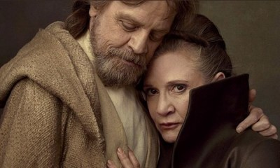 Mark Hamill homenajea a Carrie Fisher