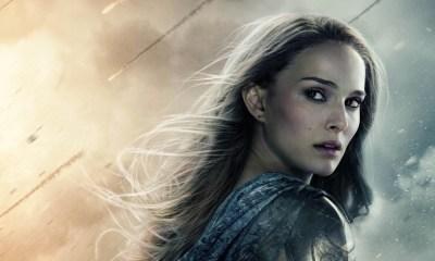 Natalie Portman se impresionó de Chris Hemsworth
