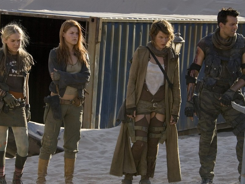 zombies del reboot de Resident Evil