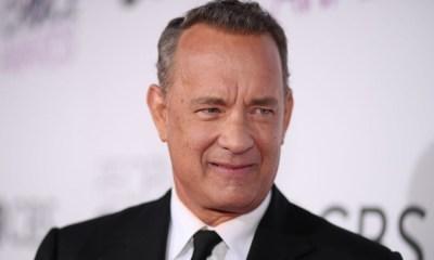Tom Hanks cambió de look
