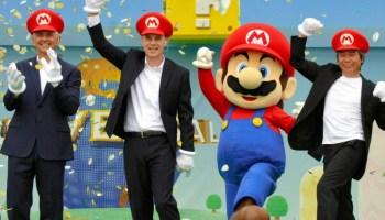 apertura de Super Nintendo World