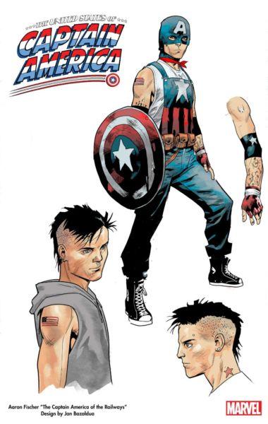¡Miembro de la comunidad LGBT! Marvel revela al nuevo Captain America captain-america-lgbt