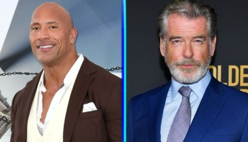 Dwayne Johnson habló de Pierce Brosnan en 'Black Adam'